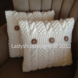Ravelry Blackberry Cable Pillow Cover Pattern By Jennifer