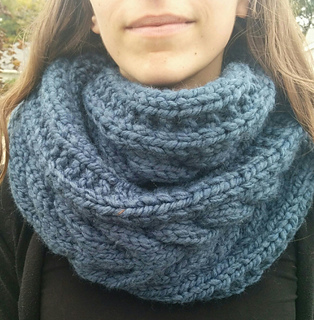 Ravelry Cable Knit Infinity Scarf Pattern By Stephanie Miller