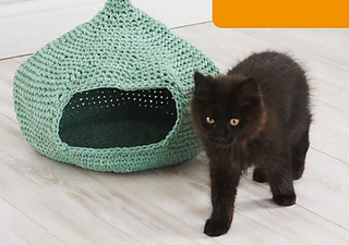 Ravelry: Cozy Cat Cave pattern by Erin Black