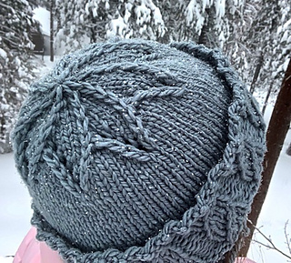 ed670ecfac647b patterns > Laura Cunitz's Ravelry Store. > Lake Effect Snow Hat