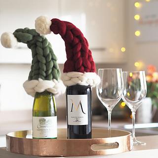 Ravelry  Santa Hat Tree Topper pattern by Lauren Aston Designs 9a4bb74219b4