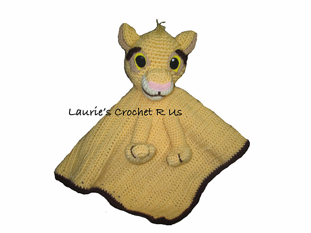 Ravelry Crochet Lioncub Security Blanket Lovey Pattern By Laurie