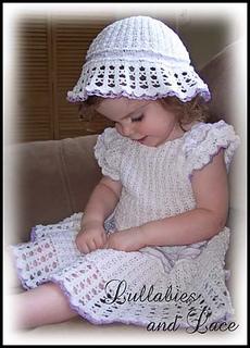 Ravelry  Angel Lace Baby Ensemble pattern by Anna Ness 427b78b9d