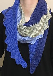 Ravelry: Step It Up Knit Shawl pattern by Yarnspirations