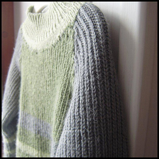 55c430df3717 Ravelry  Half Fishermans Rib Raglan pattern by Eileen Metcalf