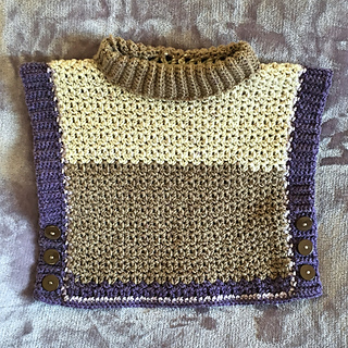 Ravelry: Amelia Poncho Sweater pattern by Megan Meyer