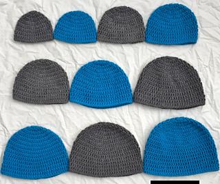 Ravelry  Double Crochet Hat in 10 Sizes pattern by Megan Meyer 87fd2143ed8c