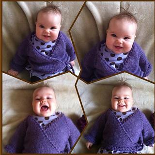 6dbc0c31c1c9 Ravelry  Bulky Seamless Baby Kimono pattern by Jacki Kelly
