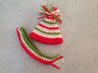 Ravelry Elf On The Shelf Hat Amp Scarf Set Pattern By