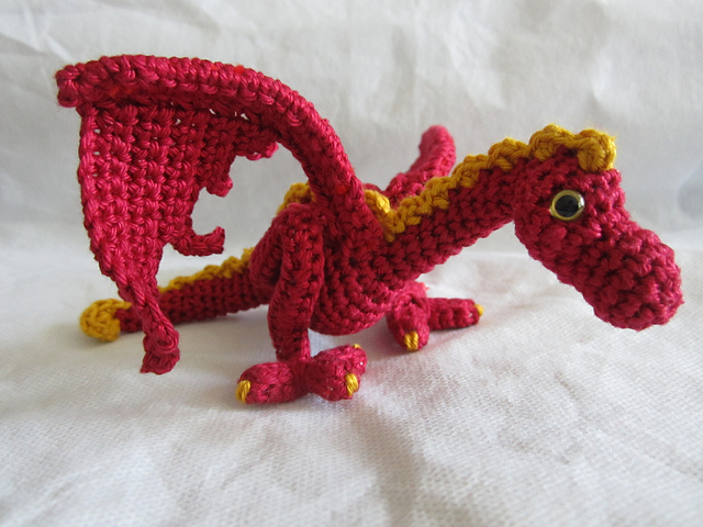 Ravelry Little Wyvern Dragon Pattern By Lepida Amaratha