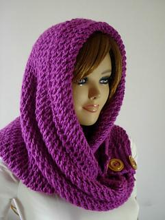 Ravelry  LouLou Kiss Hood pattern by Lilia Vanini d9cd62dc7e25