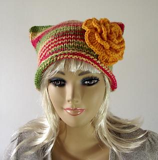Ravelry  Be Happy Hat pattern by Lilia Vanini 907e102872eb