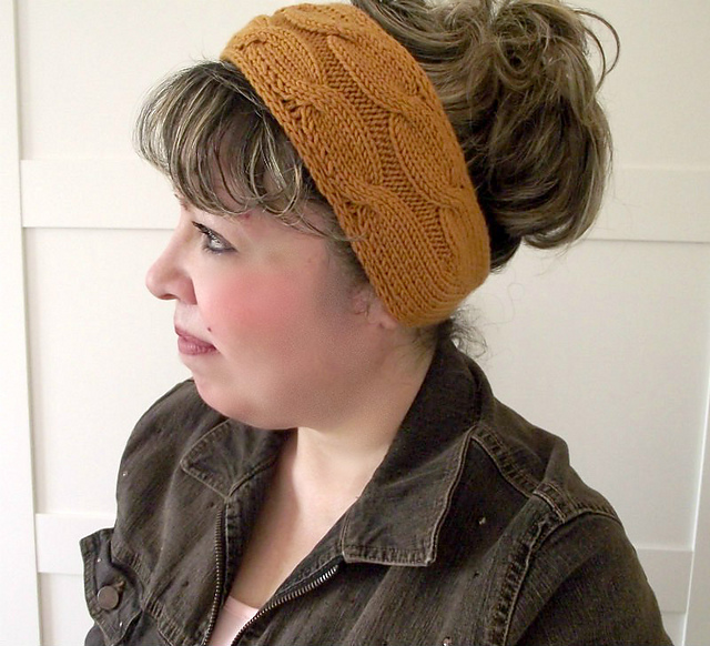 Ravelry  Soulmates Headband pattern by Lilia Vanini 508c646ade5e