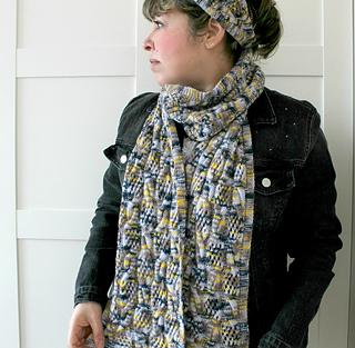 Ravelry  Penelope Scarf pattern by Lilia Vanini 3b05ffe55376
