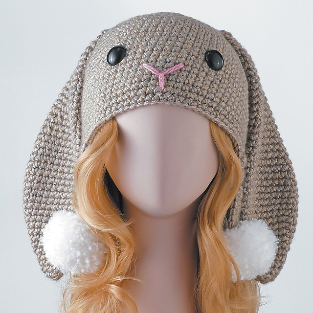 Ravelry  Rabbit Hat pattern by Linda Wright - Lindaloo Enterprises 0c6e918d9d5