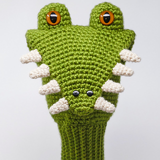 Ravelry Alligator Golf Club Cover Pattern By Linda Wright