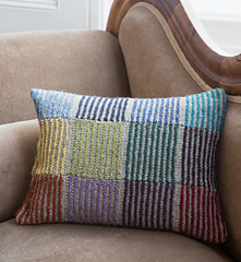 Ravelry Simply Stripes Cushion Pattern By Martin Storey