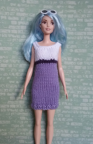 Curvy Barbie Knit Dress Pattern By Linda Mary Ravelry