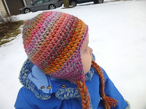 Ravelry Seamless Earflap Hat Pattern By Lindsey Carr