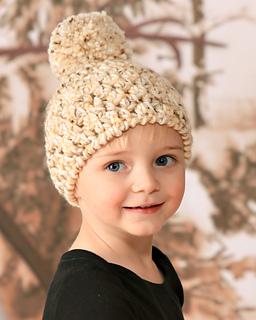 e23ada5eba8 Ravelry  Easy Winter Pom Pom Hat pattern by Lisa Corinne Crochet