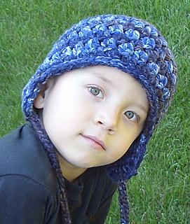 5497f216396 Ravelry  Boy s Earflap Hat Crochet Pattern  29 pattern by Lisa Corinne  Crochet