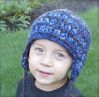 c722c813c0a Ravelry  Boy s Earflap Hat Crochet Pattern  29 pattern by Lisa ...