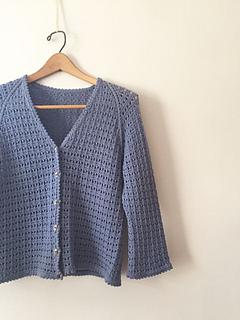 6a5e7a8a51d8a Caroline Cardigan pattern by Cheryl Toy - Ravelry