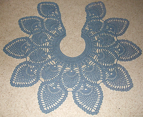 Ravelry Pineapple Doily Shawl Pattern By Laura Garsten