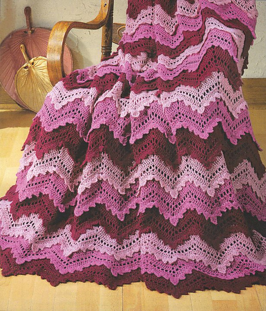 Ravelry Reflections Afghan Kit Pattern By Herrschners