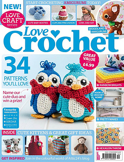 Ravelry Love Crochet Issue 12 November 2014 Patterns