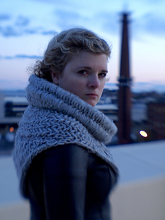 The Huntress Cowl pattern by LollyKnits