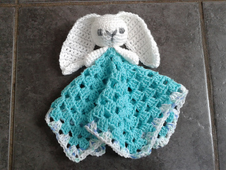 Ravelry Cute Bunny Comforter Lovey Pattern By Laura Tegg