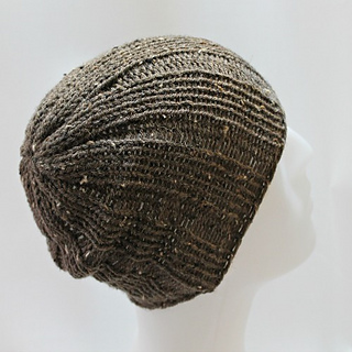 Ravelry  Loom Knit Rib Stitch Mens Hat pattern by Denise Canela 2a3d0fd0ab3