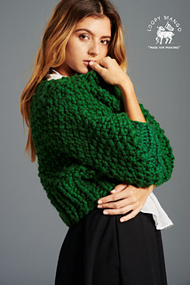 Ravelry: Super Cropped Sweater pattern by Loopy Mango