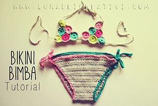 Ravelry Pattern Uncinetto Bikini Bimba Step By Step Tutorial