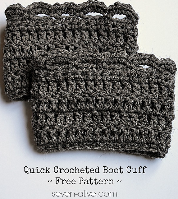 Ravelry Quick Boot Cuff Pattern By Kadie Arrington
