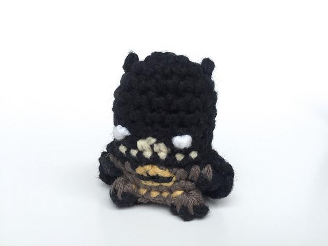 Ravelry Batman Amigurumi Keychain Miniature Doll Pattern By Louis