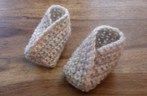 Ravelry Simple Crossover Bootie Pattern By Louise Mac Extraordinary Crochet Boot Pattern