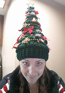 Christmas Tree Hat.Ravelry Merriest Christmas Tree Hat Pattern By Katieanne