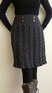 Ravelry: Winter Twist Skirt pattern by Romy Kremers