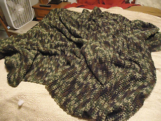 Ravelry: Janine's Camo Afghan pattern by Taylor Ferguson