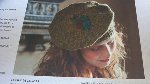 Leaf Beret Knitting Pattern : Ravelry: Autumn Leaf Beret pattern by Nicky Epstein