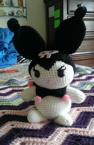 Ravelry Large Amigurumi Kuromi Lookalike Doll Pattern By Armina