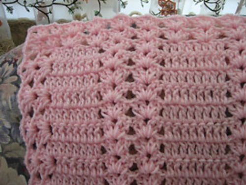 Ravelry Pink Moscato Double Shell Pattern By Roseanna Beck