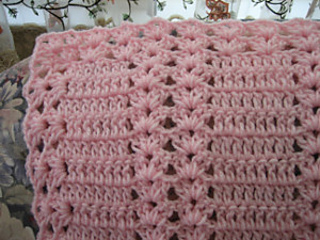 Ravelry: Pink Moscato Double Shell pattern by Roseanna Beck