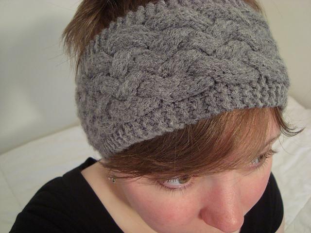 Ravelry Knotwork Cabled Headband Pattern By Lucy Liebenstein