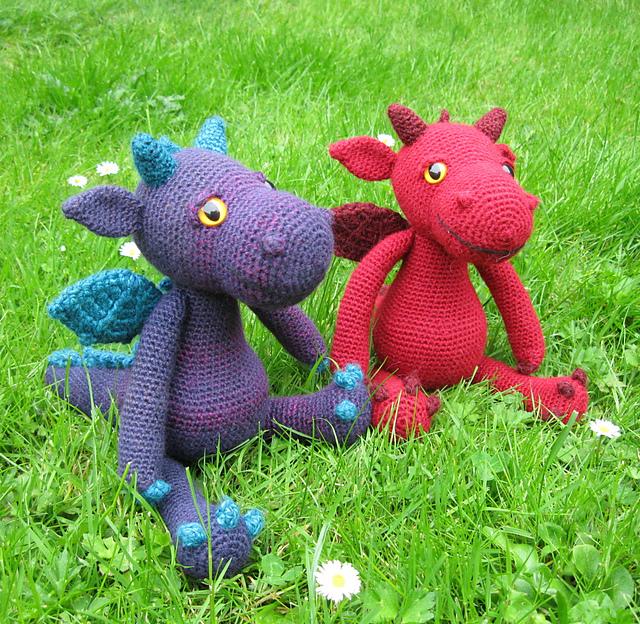 Ravelry: Cuddly Dragon Amigurumi pattern by Lucy Collin