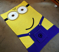 Ravelry childs crochet minion inspired afghan pattern by lucy barnes lucy barnes ccuart Choice Image