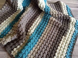 Bubbles Yarn Cakes Baby Blanket pattern by Catherine McLennan
