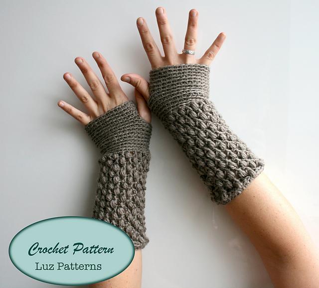 Ravelry Wrist Warmer 124 Pattern By Luz Mendoza